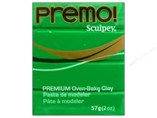 craft & hobbies: Premo! Sculpey Polymer Clay 2 oz. Green