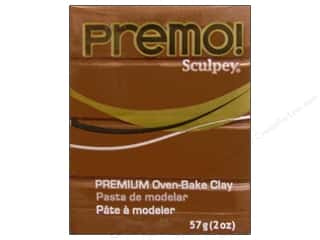 craft & hobbies: Premo! Sculpey Polymer Clay 2 oz. Raw Sienna