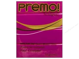 craft & hobbies: Premo! Sculpey Polymer Clay 2 oz. Fuchsia