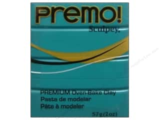 craft & hobbies: Premo! Sculpey Polymer Clay 2 oz. Turquiose