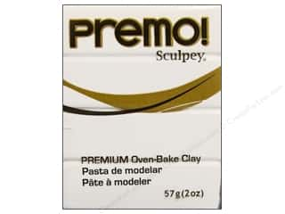 craft & hobbies: Premo! Sculpey Polymer Clay 2 oz. White