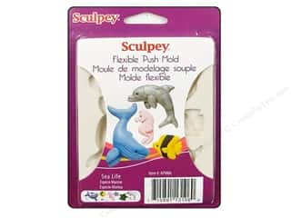 Sculpey Flexible Push Molds : Sculpey Flexible Push Mold Sea Life