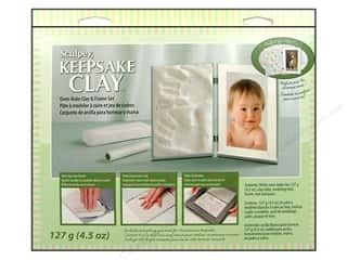 craft & hobbies: Sculpey Keepsake Frame Sets Clay Kit White