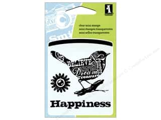 Inkadinkado InkadinkaClings Clear Stamp Mini Bird