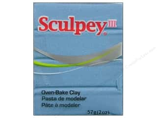 acrylic paint: Sculpey III Clay 2 oz. Light Blue Pearl