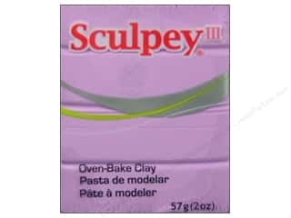 acrylic paint: Sculpey III Clay 2 oz. Spring Lilac