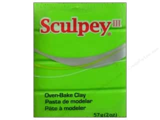 craft & hobbies: Sculpey III Clay 2 oz. Granny Smith