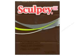 acrylic paint: Sculpey III Clay 2 oz. Hazelnut