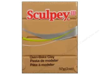 acrylic paint: Sculpey III Clay 2 oz. Tan