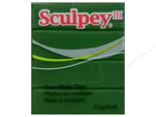 acrylic paint: Sculpey III Clay 2 oz. Leaf Green
