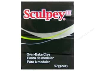 acrylic paint: Sculpey III Clay 2 oz. Black