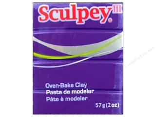 art, school & office: Sculpey III Clay 2 oz. Purple