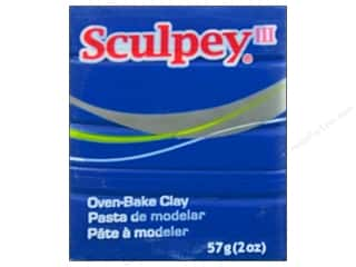 Sculpey III Clay 2 oz. Blue