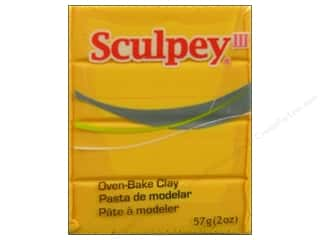acrylic paint: Sculpey III Clay 2 oz. Yellow