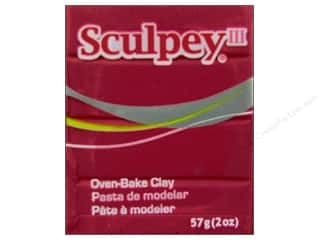 craft & hobbies: Sculpey III Clay 2 oz. Red