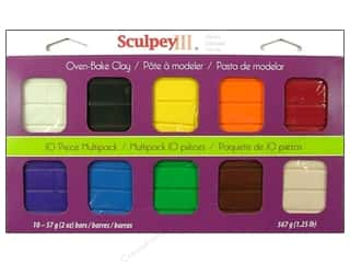 Clearance: Sculpey III Clay Multipack 10 pc. Classic