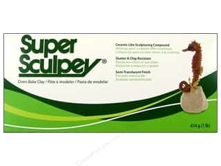 Polymer Clay: Super Sculpey Polymer Clay 1 lb. Beige