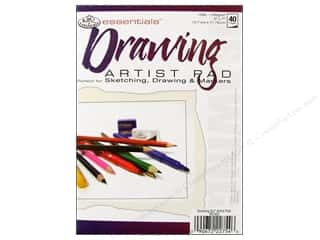scrapbooking & paper crafts: Royal Artist Pad Drawing 40pg