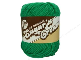 yarn & needlework: Sugar 'n Cream Yarn 120 yd. #1223 Mod Green