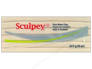 Sculpey: Sculpey III Clay 8 oz. Translucent
