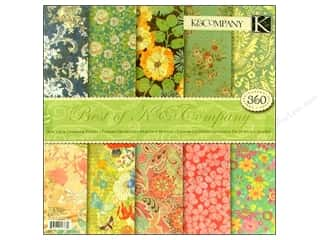 Clearance: K & Company 12 x 12 in. Paper Pad Best Of K & Company