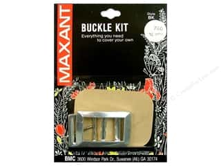 "Maxant Button & Supply: Maxant Covered Buckle Kit 3/4"" Rectangle"
