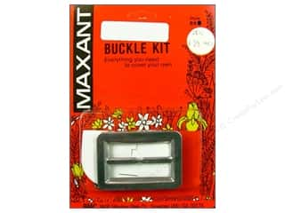 "Maxant Button & Supply: Maxant Covered Buckle Kit 1.5"" Rectangle"