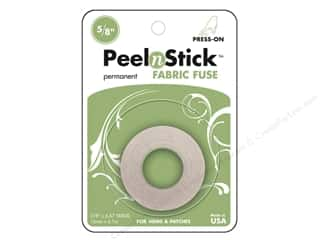 Therm O Web Permanent SuperTape : Therm O Web PeelnStick Fabric Fuse 5/8 in. x 20 ft.
