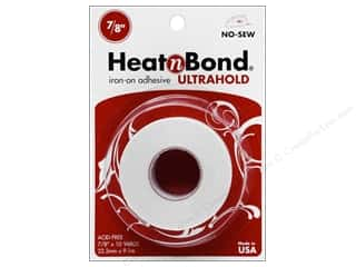 "heat n bond iron-on adhesive: Heat n Bond Ultra Hold Iron-on Adhesive 7/8""x 10yd"