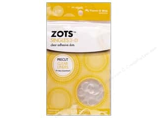 Therm O Web: Therm O Web Zots Clear Adhesive Dots 125 pc. 1/2 x 1/8 in. Singles 3D