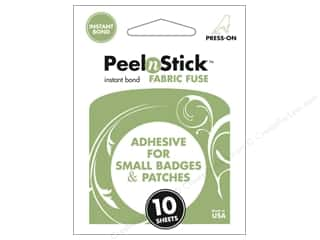 Therm O Web: Therm O Web PeelnStick Fabric Fuse 2 1/8 x 2 1/2 in. 10 pc.