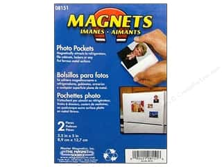 craft & hobbies: The Magnet Source Magnet Photo Pocket 3 1/2 x 5 in. 2 pc.