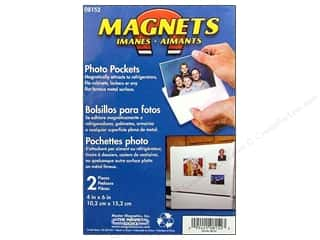 craft & hobbies: The Magnet Source Magnet Photo Pocket 4 x 6 in. 2 pc.