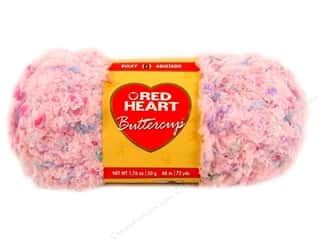 Multi Colored Yarn: Red Heart Buttercup Yarn #4274 Petal Pink Multi 72 yd.
