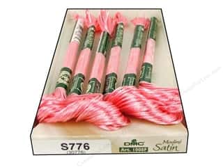 DMC Satin Embroidery Floss #S776 Sugar Almond Pink