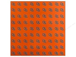 "scrapbooking & paper crafts: Sports Solution Paper 12""x 12"" Oregon State Orange (25 sheets)"