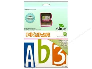 die cutting machines: Slice Design Card Making Memories MS+ Fonts Hodge Podge