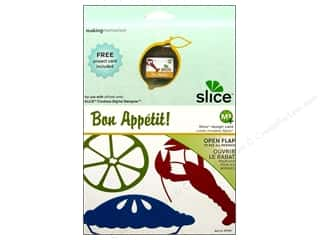 die cutting machines: Slice Design Card Making Memories MS+ Bon Appetit
