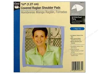 Covered Raglan Shoulder Pads by Dritz 1/2 in. White
