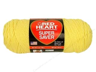 Red Heart Super Saver Yarn 364 yd. #0235 Lemon