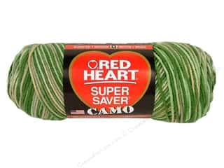 Red Heart Super Saver Yarn 236 yd. #0991 Desert Camo
