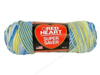 yarn & needlework: Red Heart Super Saver Yarn #0996 French Country 244 yd.
