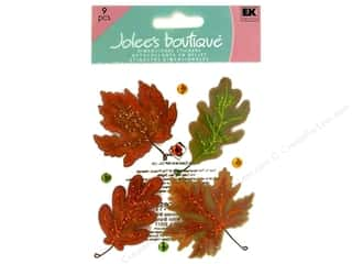 stickers: Jolee's Boutique Stickers Vellum Leaves