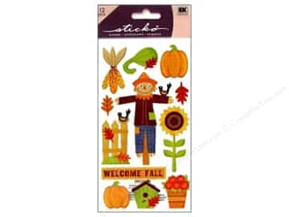 scrapbooking & paper crafts: EK Sticko Stickers Welcome Fall