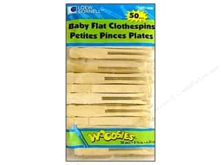 Woodsies Baby Flat Clothespin 50 pc.