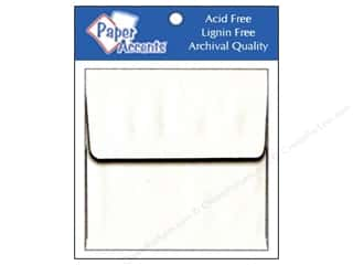 Clearance Paper Accents Envelopes: 2 1/4 x 2 1/4 in. Envelopes by Paper Accents 15 pc. #128 White
