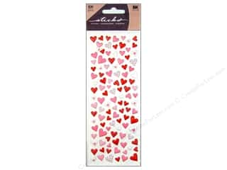 EK Sticko Stickers Puffy Hearts