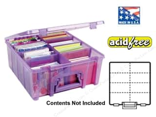 Weekly Specials ArtBin Super Satchels: ArtBin Super Satchel Double Deep Translucent Purple