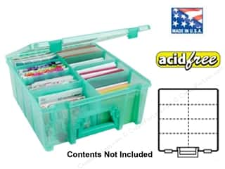 Weekly Specials ArtBin Super Satchels: ArtBin Super Satchel Double Deep Translucent Teal