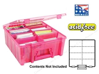 Weekly Specials ArtBin Super Satchels: ArtBin Super Satchel Double Deep Translucent Raspberry